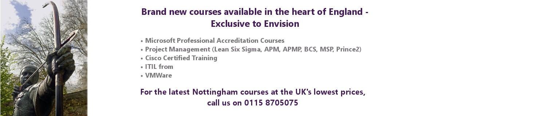 Nottingham Courses