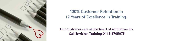 100% Customer Retention